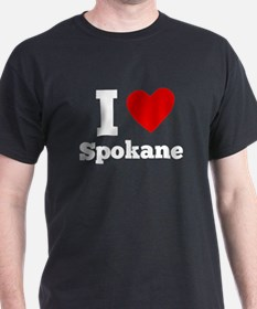 I Heart Spokane T-Shirt