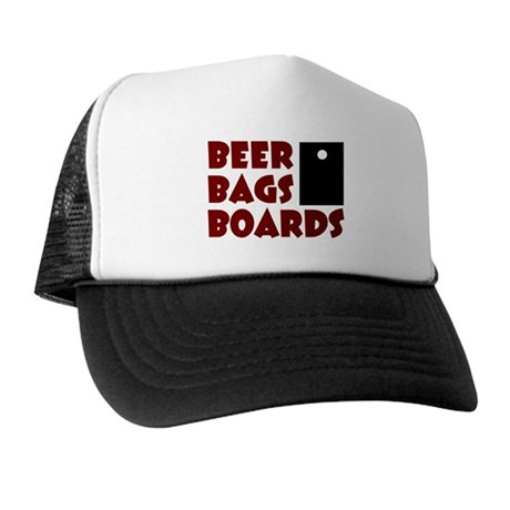 Beer Bags Boards Trucker Hat