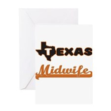 Texas Midwife Greeting Cards