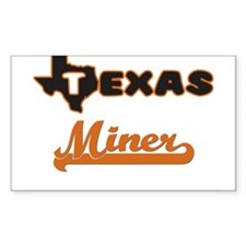 Texas Miner Decal