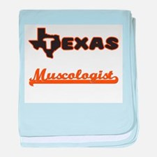 Texas Muscologist baby blanket