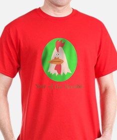 Cartoon Year of the Rooster T-Shirt