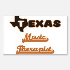 Texas Music Therapist Decal