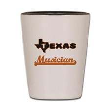 Texas Musician Shot Glass