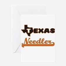 Texas Needler Greeting Cards
