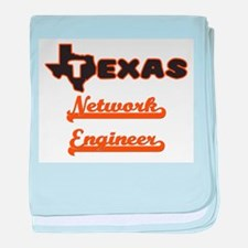 Texas Network Engineer baby blanket