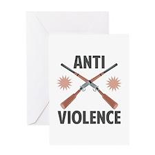 Anti Violence Greeting Cards