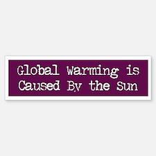 Global Warming Bumper Bumper Bumper Sticker