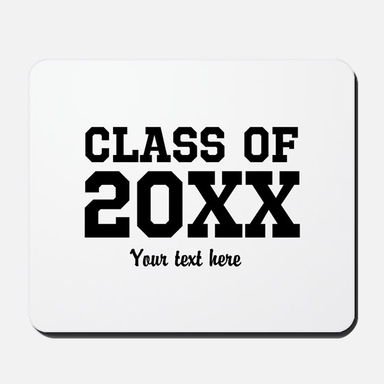 Custom Class Of Graduation Party Favor Mousepad