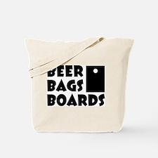 Beer Bags Boards Tote Bag