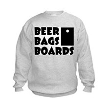 Beer Bags Boards Sweatshirt
