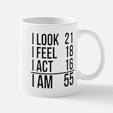 I Am 55 Mugs