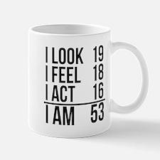 I Am 53 Mugs