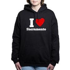 I Heart Sacramento Women's Hooded Sweatshirt