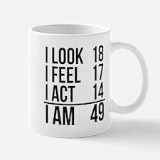 I Am 49 Mugs
