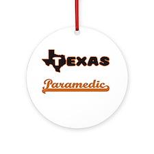 Texas Paramedic Ornament (Round)