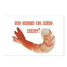 Jumbo Shrimp Postcards (Package of 8)