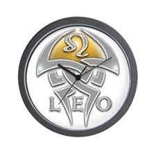 astrology leo Wall Clock
