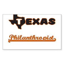 Texas Philanthropist Decal