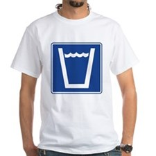 Drinking Water Sign Shirt