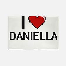 I Love Daniella Digital Retro Design Magnets