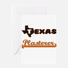 Texas Plasterer Greeting Cards