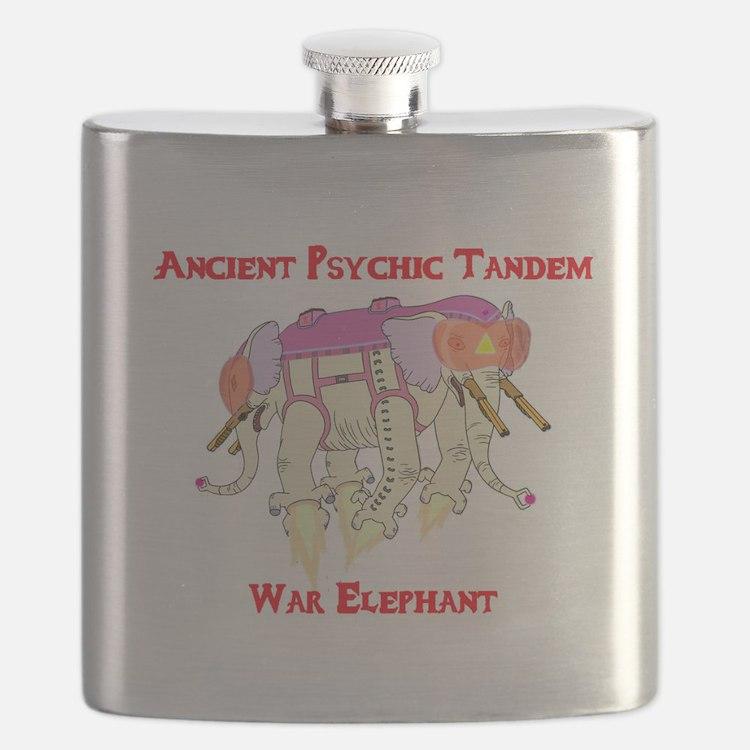 Ancient Psychic Tandem War Elephant Flask