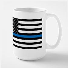 Blue Line Coffee MugMugs