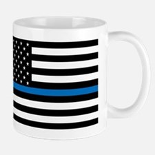 Blue Line Small Mugs