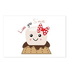 Love You Smore Postcards (Package of 8)