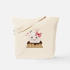 Love You Smore Tote Bag