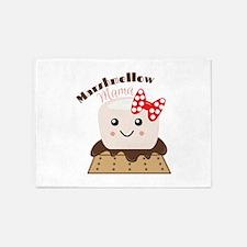 Marshmellow Mama 5'x7'Area Rug