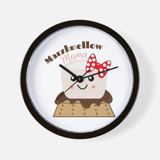 Marshmellow Mama Wall Clock