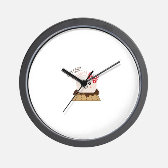 Ooey Gooey Goodness Wall Clock
