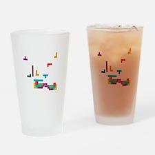 Tetris Drinking Glass