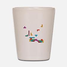 Tetris Shot Glass