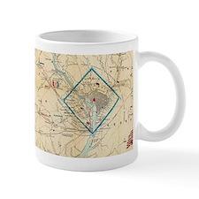 Vintage Northern Virginia Civil War Map (1862 Mugs