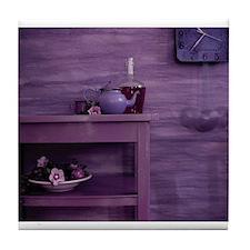 Purple Study Tile Coaster