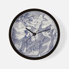 Ancient Romans Figures Wall Clock