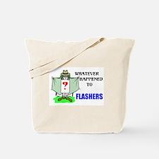 FLASHERS Tote Bag