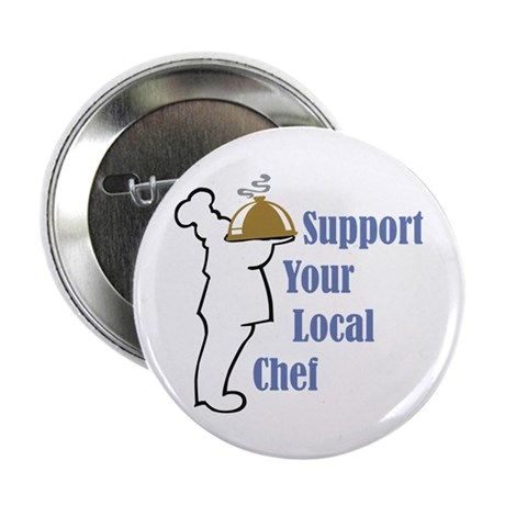 """Local Chef 2.25"""" Button (100 pack)"""