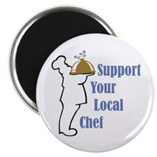 "Local Chef 2.25"" Magnet (100 pack)"