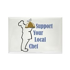 Local Chef Rectangle Magnet