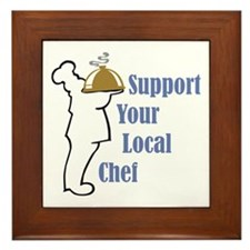 Local Chef Framed Tile