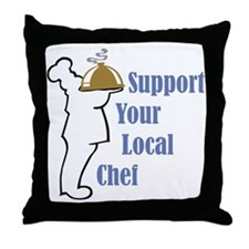 Local Chef Throw Pillow