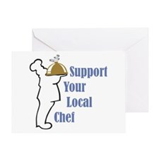 Local Chef Greeting Card
