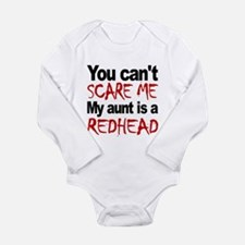 You Cant Scare Me My Aunt Is A Redhead Body Suit