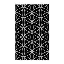Flower of Life Lg Ptn LG/B Area Rug