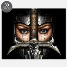 Knight Woman Puzzle