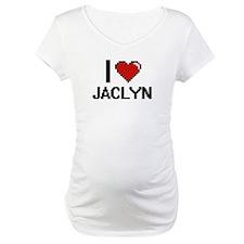 I Love Jaclyn Digital Retro Desi Shirt
